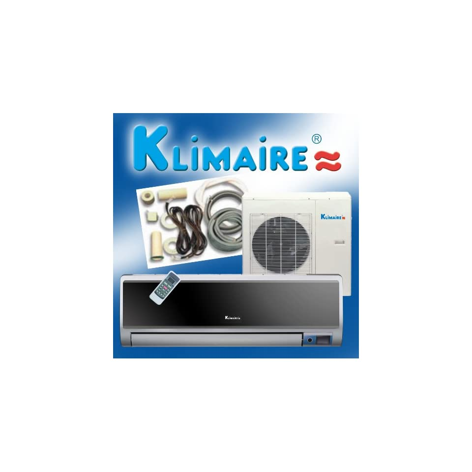Ductless Mini Split Air Conditioner with Heat Pump and Remote Control