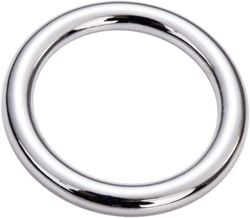 """Quantity Pricing Available 1/"""" Heavy Welded Polished Bronze O Rings"""