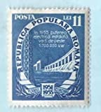 Used Romania Stamp %281951%29 11L Five Y