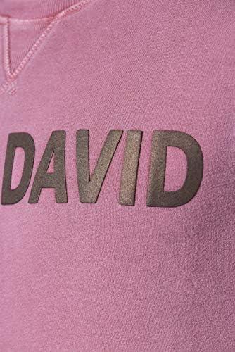 Camp David Sweatshirt Alpine Rules Burgundy CCW-1907-3088