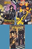 PRINCE 3 Different Comics NM+ Unread VHTF (Rock 'N' Roll Comics, New Power Generation: Three Chains of Gold, Alter Ego)