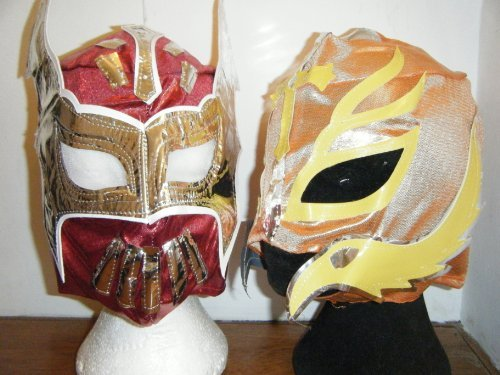 REY MYSTERIO Sin Cara Red And Wrestling Masks -