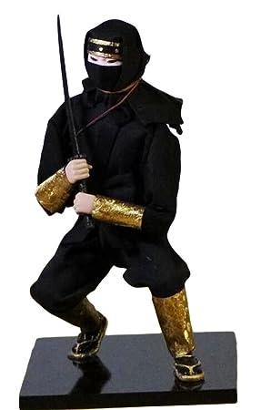 Amazon.es: Black Temptation Japón Ninja Guerrero Muñeca ...