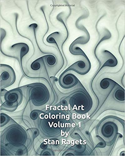 Fractal Coloring Book Cover