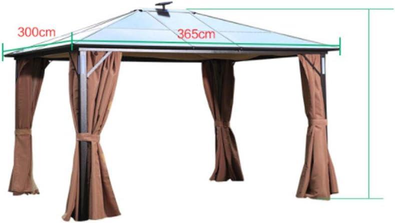 Cenador para exteriores, toldo para cobertizo, protector solar ...