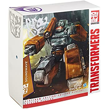 """Transformers Platinum Edition """"Year of the Goat"""" Exclusive Masterpiece Soundwave by Hasbro"""