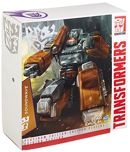 "Transformers Platinum Edition ""Year of the Goat"" Exclusive Masterpiece Soundwave by Hasbro"