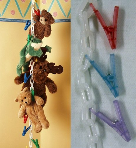 Original Chain Gang Toy Organizer - Pastel 20 count