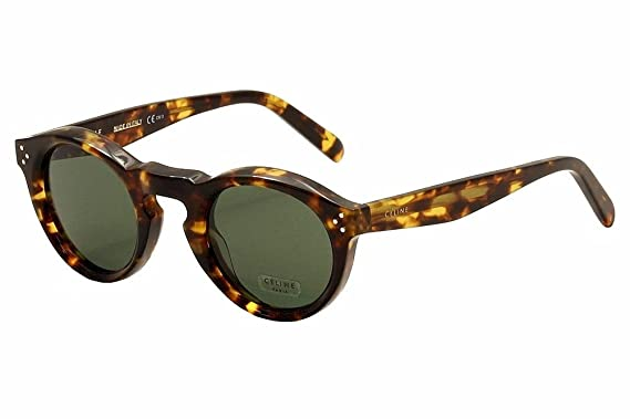 f722ca05f9c4 Celine Oval Sunglasses CL41370S E8885 Blonde Tortoise 41370 at ...