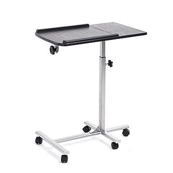 Generic Verstellbarer Tisch Computertisch Schwarz Amazonde Baumarkt