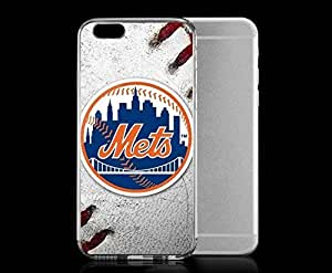 Light weight with strong PC plastic case for iPhone 6 plus 5.5 Sports & Collegiate MLB New York Mets New York Mets Game Ball