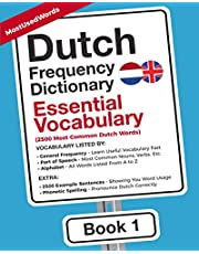 Dutch Frequency Dictionary - Essential Vocabulary: 2500 Most Common Dutch Words