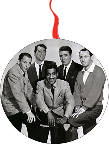 The Rat Pack Frank Sinatra Martin Davis Christmas Tree Holiday Ornament Printed Double- 2 Sided Decoration Great Unisex