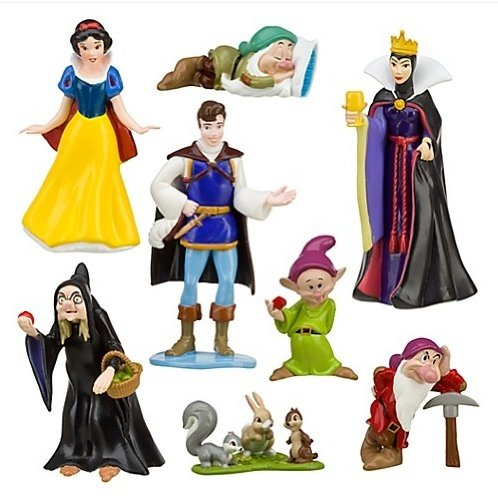 PVC Queen Prince Princess Snow White And The Seven Dwarfs Figure Play Set by - Snow White Princess Figure