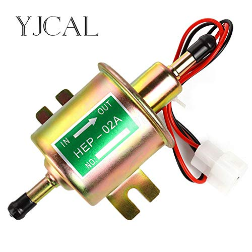 (CUSODI | Pumps Low Pressure Universal Diesel Petrol Gasoline Electric Fuel Pump HEP|02A 12V 24V for Car Motorcycle)