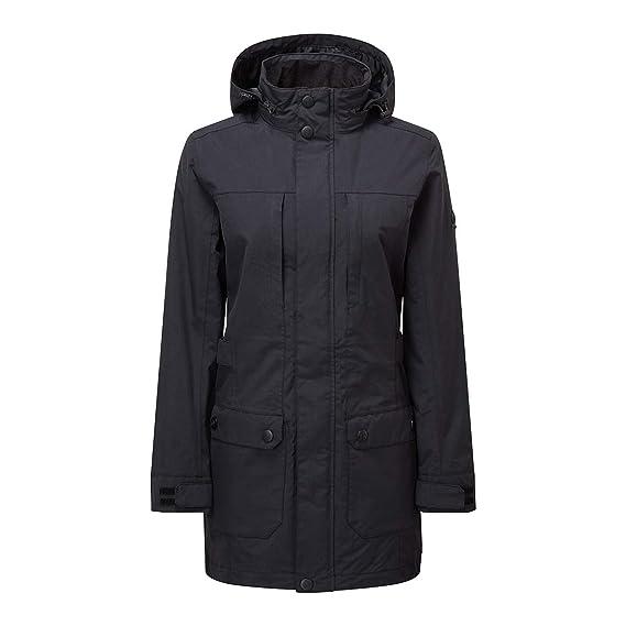 127945863 Tog24 Clayton Womens Waterproof Windproof Jacket Thermal Long Parka ...