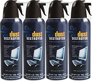 dust destroyer duster 7oz 4 pack office products. Black Bedroom Furniture Sets. Home Design Ideas