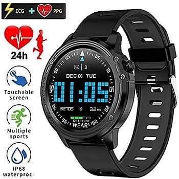 LAIWUSSY L8 Smart Bracelet Fitness Tracker ECG+PPG Blood Pressure Heart Rate Watch IP68 Waterproof Fitness Band Sports Bracelet Smartwatches