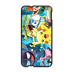 Happy Lovely Pokemon Cell Phone Case for HTC One M7