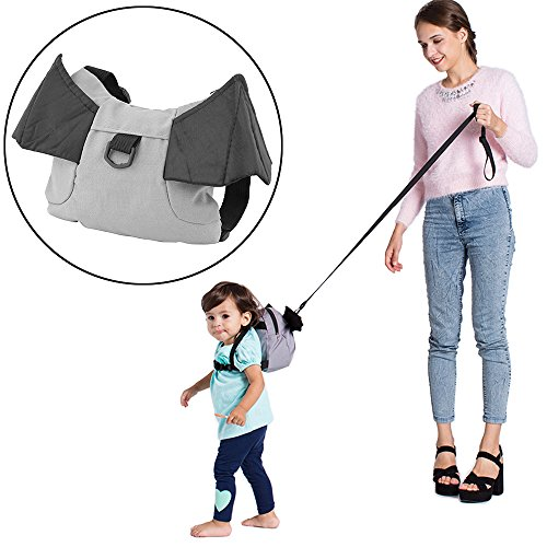 Baby Kids Keeper Toddler Walker Safety Harness Backpack Bag Strap Rein Walking Carrier Cute Toddler Bag for Pre-School Keeps Essential Items Ready for Childcare (Batman)
