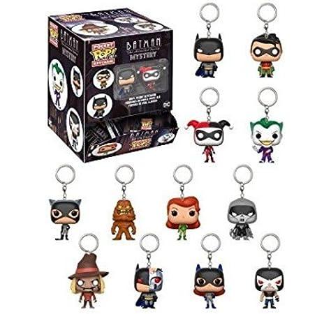 Funko Llavero Pocket Pop DC Comics Batman Animated Blindbags: Amazon.es: Juguetes y juegos