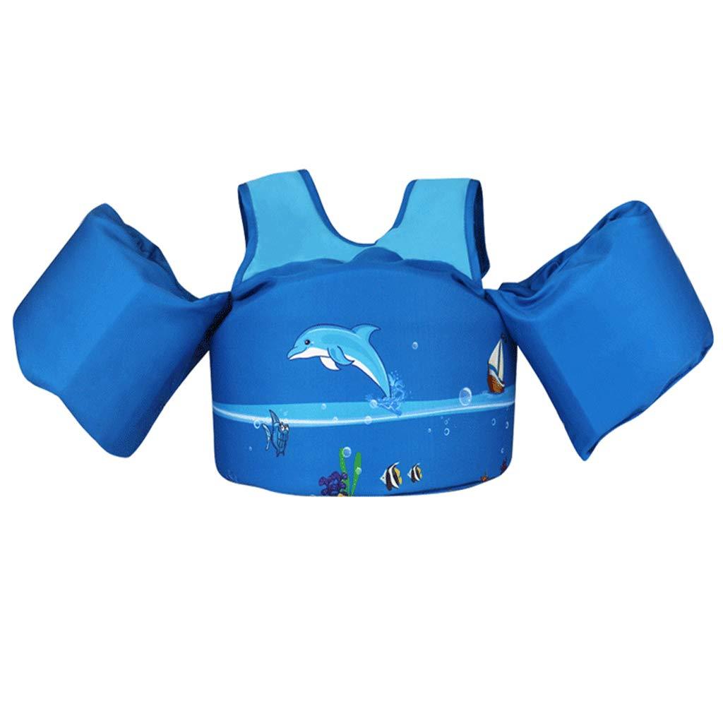バーゲンで HomDSim ベビー用水泳ベストジャケット スイムアームバンド HomDSim フォームベスト 子供用アームリング 水泳ベスト 水泳ベスト キッズ安全ベスト ブルー ブルー B07PGSN636, ブランド古着 Brooch:b12c834b --- a0267596.xsph.ru