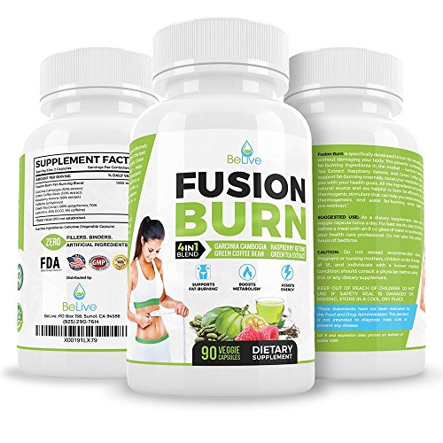 Garcinia Cambogia Extract Dr Oz Recommended Ingredients Fat Burner for Women and Men Clinically Proven Weight Loss*** Green Tea Extract, Raspberry Ketones, Green Coffee Bean Extract. 90 Veggie Caps