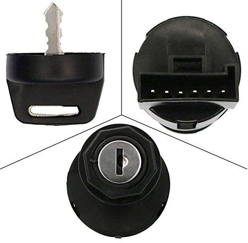 Ignition Switch with Key - Polaris Ranger 500 700 800 900 Ignition Key Switch Keyswitch Key - OEM 4011002 4012165
