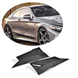 MCARCAR KIT Side Skirts Splitter fits Mercedes Benz S Class C217 S500 S550 S63 S65 AMG Coupe | Add-on Pure Carbon Fiber Car Fender Aprons Vents Protector | 2015 2016 2017