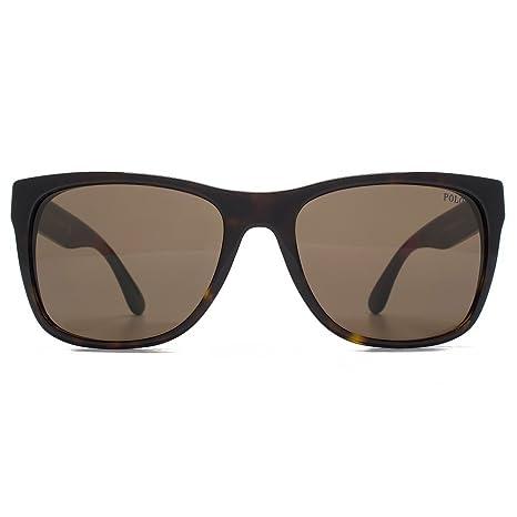 Polo Ralph Lauren PH4106 Sonnenbrille Dunkles Havana Glänzend 556873 57mm mwXIp56