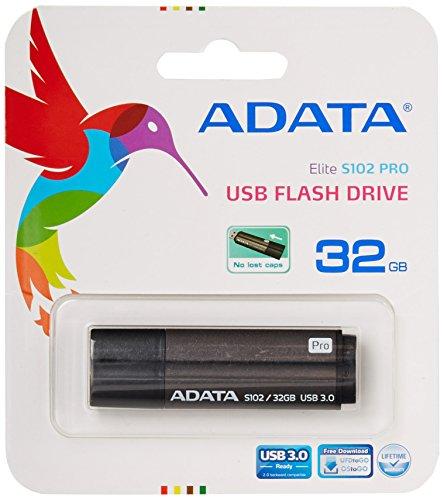 ADATA S102 Pro 32 GB USB 3.0 Ultra Fast Read Speed up to 90