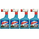 Windex Outdoor Glass and Patio Concentrated Cleaner 32 fl oz (Pack of 4)