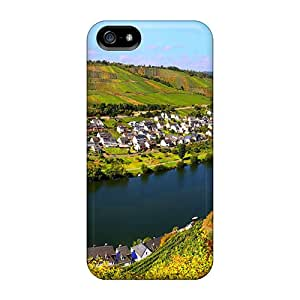 Yfn12153MEcV Phone Cases With Fashionable Look For Iphone 5/5s - City In Germany
