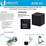 Ubiquiti Networks airCube ACB-AC airMAX 802.11ac Dual-Band Home Wi-Fi Access Point PoE 24V In/Out