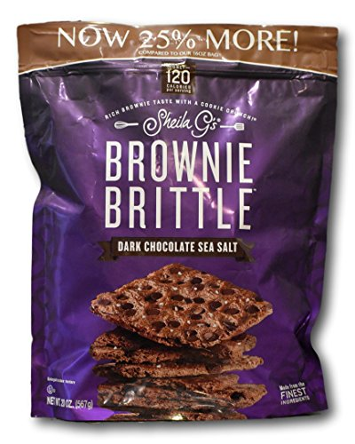 Sea Brownies Salt (Sheila G's Brownie Brittle- Dark Chocolate Sea Salt)