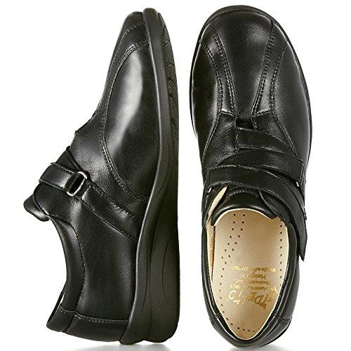 Fidelio Kvinners Hallux Fabia Ilke Lindring Regulerbar Sko 356003 (svart) Stor Bredde