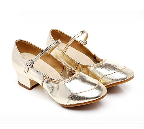 Fondo Baile Baile De Dorado De Salón WYMNAME Mediados De Tacones Latino Social Zapatos Baile Zapatos Zapatos Blando Mujeres De XwwgfqZBt