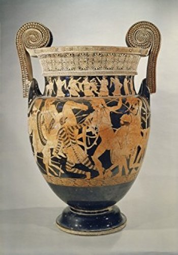 Posterazzi Panatenaic Amphora (Vase) Greek Art Museo Archeologica Naples Italy Poster Print, (18 x - Vases Greek Art