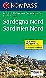 Sardegna Nord - Sardinien Nord: Wanderkarten-Set. GPS-genau. 1:50000 (KOMPASS-Wanderkarten, Band 2497)