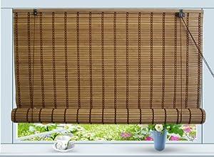 Amazon Com Bamboo Roll Up Window Blind Sun Shade W30 Quot X
