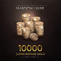 Middle-Earth: Shadow Of War: Middle-Earth: Shadow Of War 10000 (+2000 Bonus) Gold - PS4 [Digital Code]