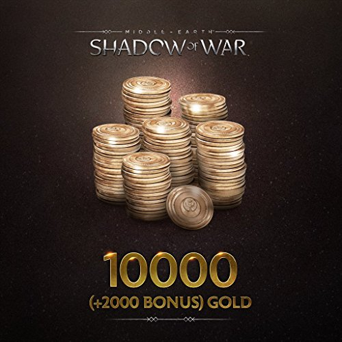 Middle-Earth: Shadow Of War: Middle-Earth: Shadow Of War 10000 (+2000 Bonus) Gold - PS4 [Digital Code] by Warner Bros Interactive. Entertainment, Inc.