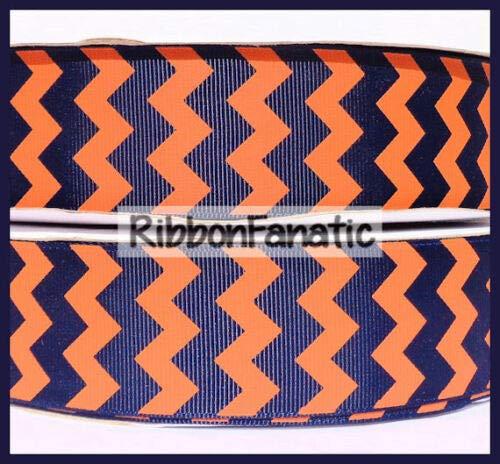 Yds Orange Grosgrain Ribbon - Ribbon Art Craft Decoration 3 yds 1.5