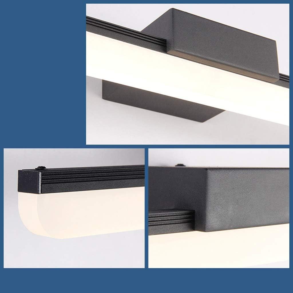 William 337 Spiegelfront Licht-LED Wasserdicht Nebelbad Badezimmerspiegel Schrank Licht American Dressing Table Makeup Lamp [Energieklasse A +] (ausgabe : Warmes licht-70.5cm) Warmes Licht-70.5cm