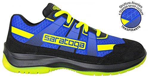 SARATOGA - n°44 Scarpe Antinfortunistiche MAXILOGO Super leggere estive Yellow