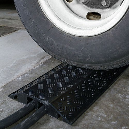 Rage Powersports DH-CR-5 2 Channel Cord Protector Cover Guard Cable Snake by Guardian Industrial Products (Image #1)