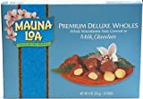 Mauna Loa Deluxe Wholes Milk Chocolate Covered Macadamia Nuts, 24-count, 8-Ounce box (Pack of12)