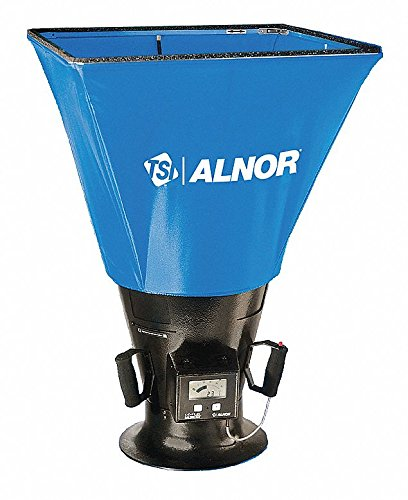Air Flow Capture Hood, ±3% of Reading ±5 CFM Accuracy, Hoods Included: 2 ft. x 2 (Alnor Air)