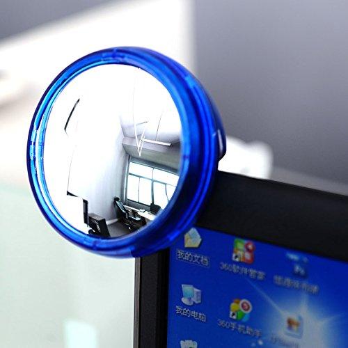 Specchietto retrovisore Rotondo con Protezione per la Privacy del Computer Ocamo Creative Fashion