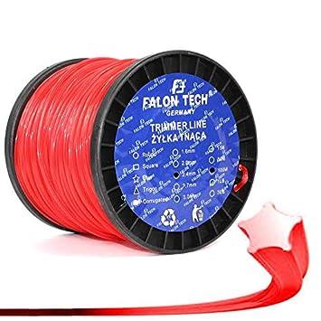 100 M/5 cantos/2,4 mm universal, robusta - Carrete para hilos para ...